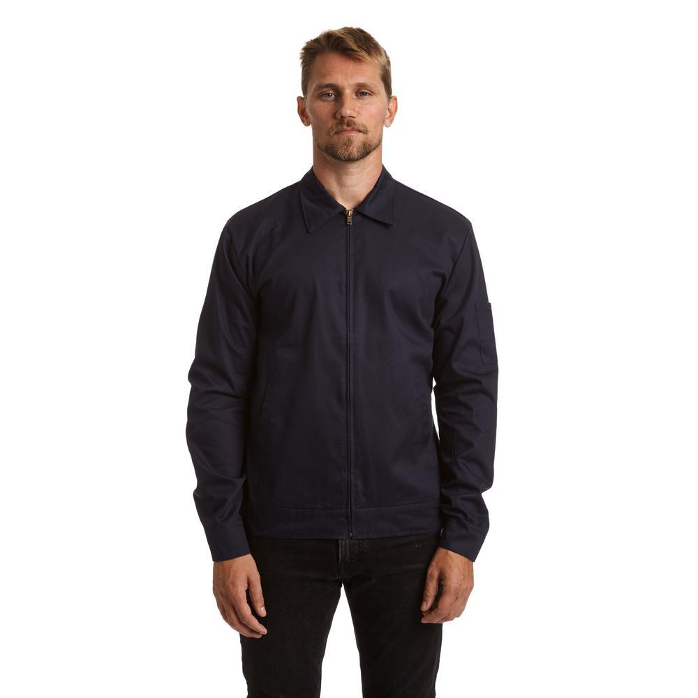 Men's Large Indigo Lightweight Jacket
