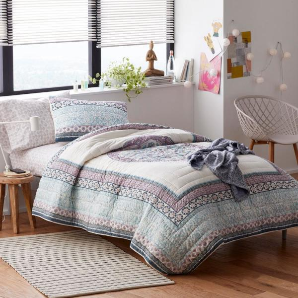 The Company Store Kayla Cotton Full/Queen Quilt 50402Q-FQ-MULTI
