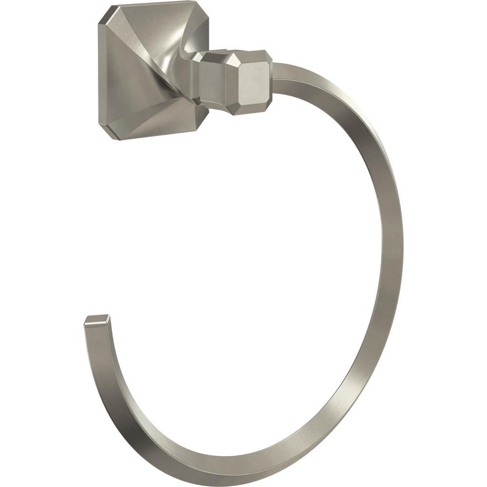Franklin Brass NAP46-SN Napier Towel Ring Satin Nickel