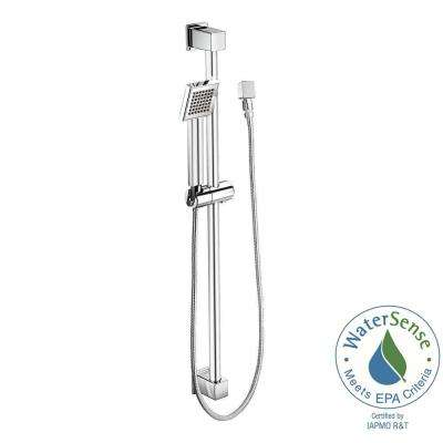 90° Eco-Performance 1-Spray 3 in. Hand Shower in Chrome