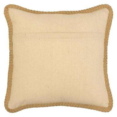 Mandalay 20 in. x 20 in. Standard Decorative Pillow