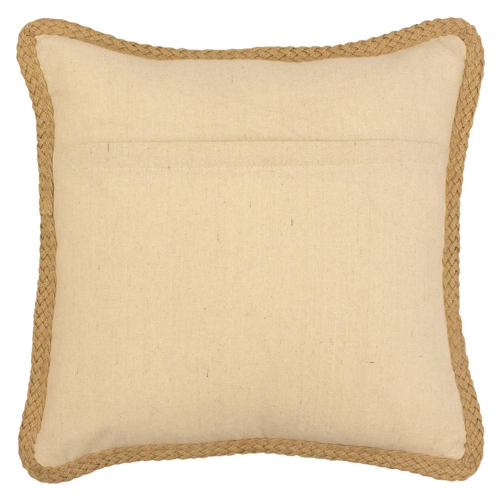 Mandalay 20 in. x 20 in. Standard Decorative Pillow
