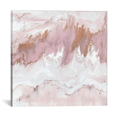"""""""Mineral In Pink"""" by Blakely Bering Canvas Wall Art"""