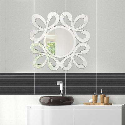 Fiori Stylish Frame Wall Decorative Round Mirror