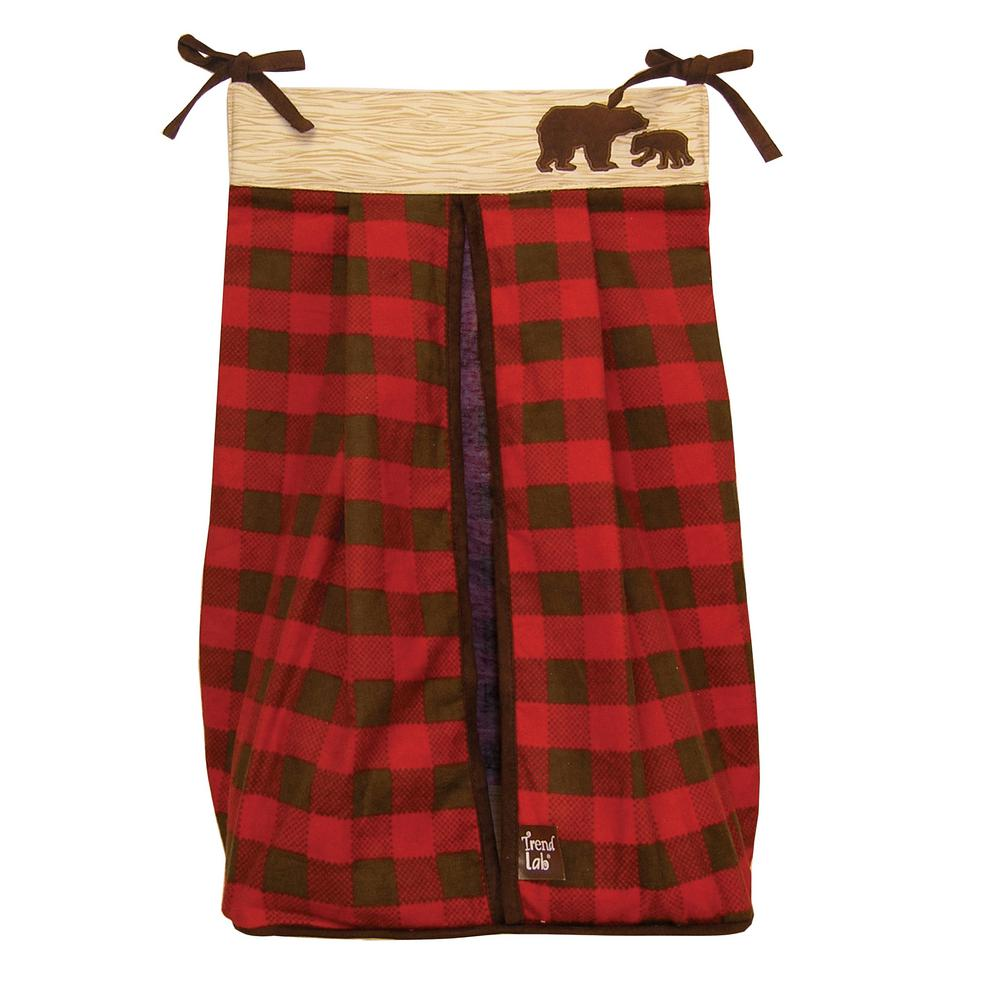 Trend Lab Northwoods Diaper Stacker 110243 The Home Depot