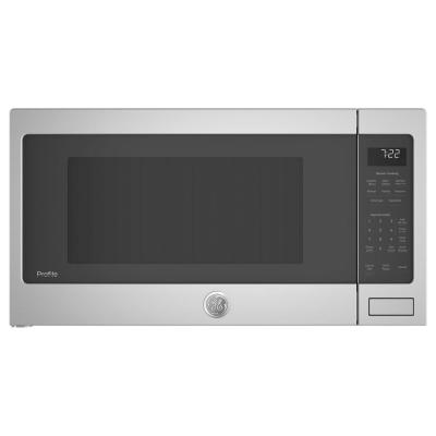 Profile 2.2 cu. ft. Countertop Microwave in Stainless Steel with Sensor Cooking