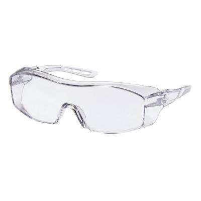 Clear Frame with Clear Scratch Resistant Lenses Indoor Eyeglass Protector (Case of 6)