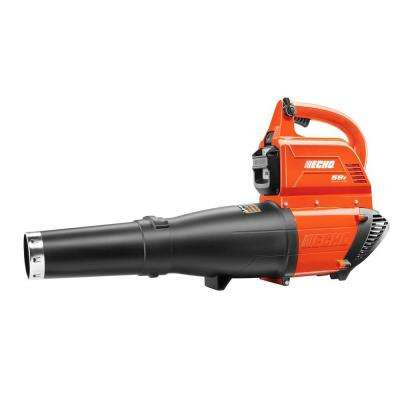 Reconditioned 120 MPH 450 CFM 58-Volt Lithium-Ion Brushless Cordless Leaf Blower - 2.0 Ah Battery and Charger Included