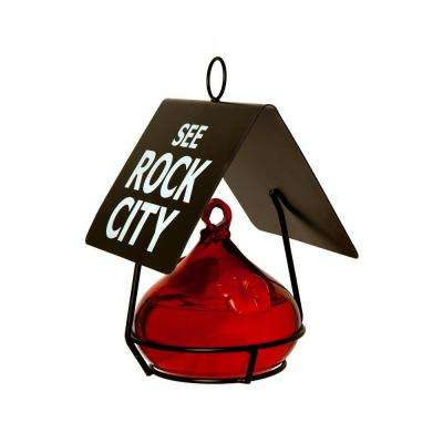 See Rock City Hummingbird Feeder