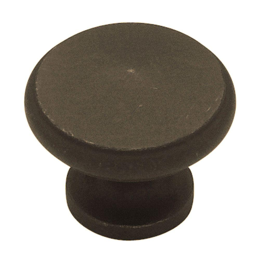 1-1/8 in. Distressed Oil Rubbed Bronze Large Peak Cabinet Knob