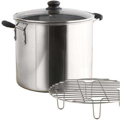 Stainless Steel 8 Qt. Tamale & Seafood Steamer