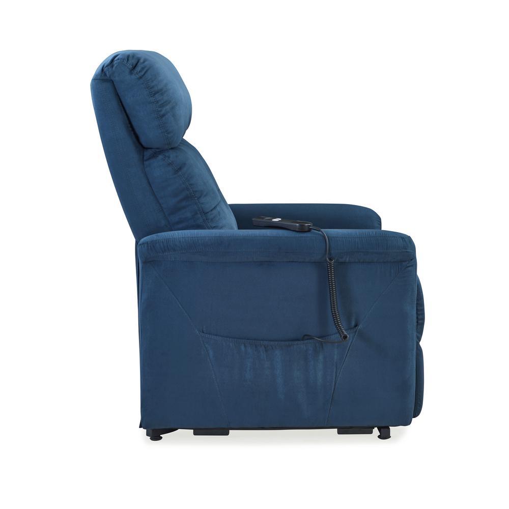 3d51a8e46c5 Internet  305961272. +8. ProLounger Blue Microfiber Power Recline and Lift  Chair