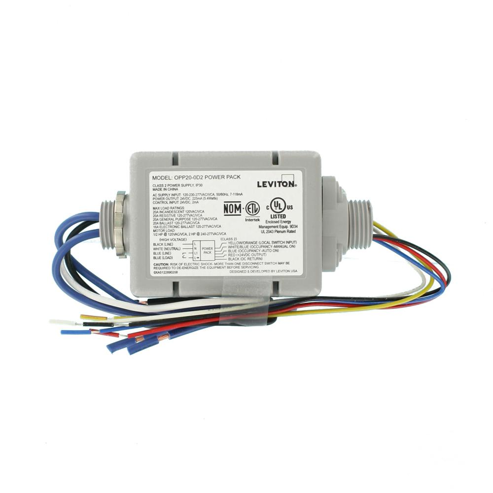 leviton 20 amp standard power pack for occupancy sensors auto on, manual on, local switch, latching relay, gray 3 way dimmer switch wiring diagram multiple lights e4537 wiring diagram for wall switch