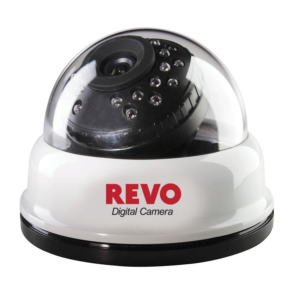 Revo 540 TVL CCD Dome Shaped Surveillance Camera-DISCONTINUED