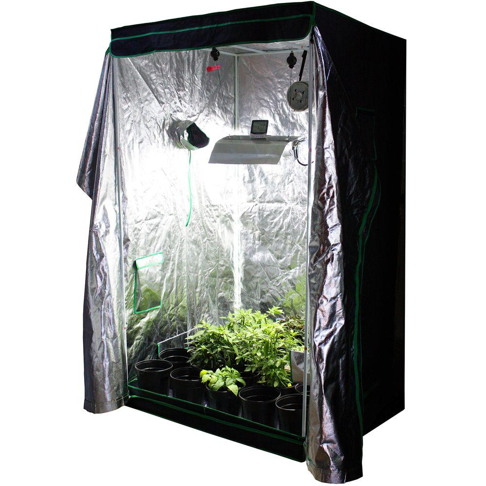 Complete Organic Grow Room-VHHORG4X4 - The Home Depot  sc 1 st  The Home Depot & Viagrow 4 ft. x 4 ft. Complete Organic Grow Room-VHHORG4X4 - The ...