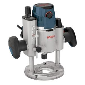 15 Amp Corded 2.3 HP Electronic Variable-Speed 3-1/2 in. Plunge-Base Router with LED Light