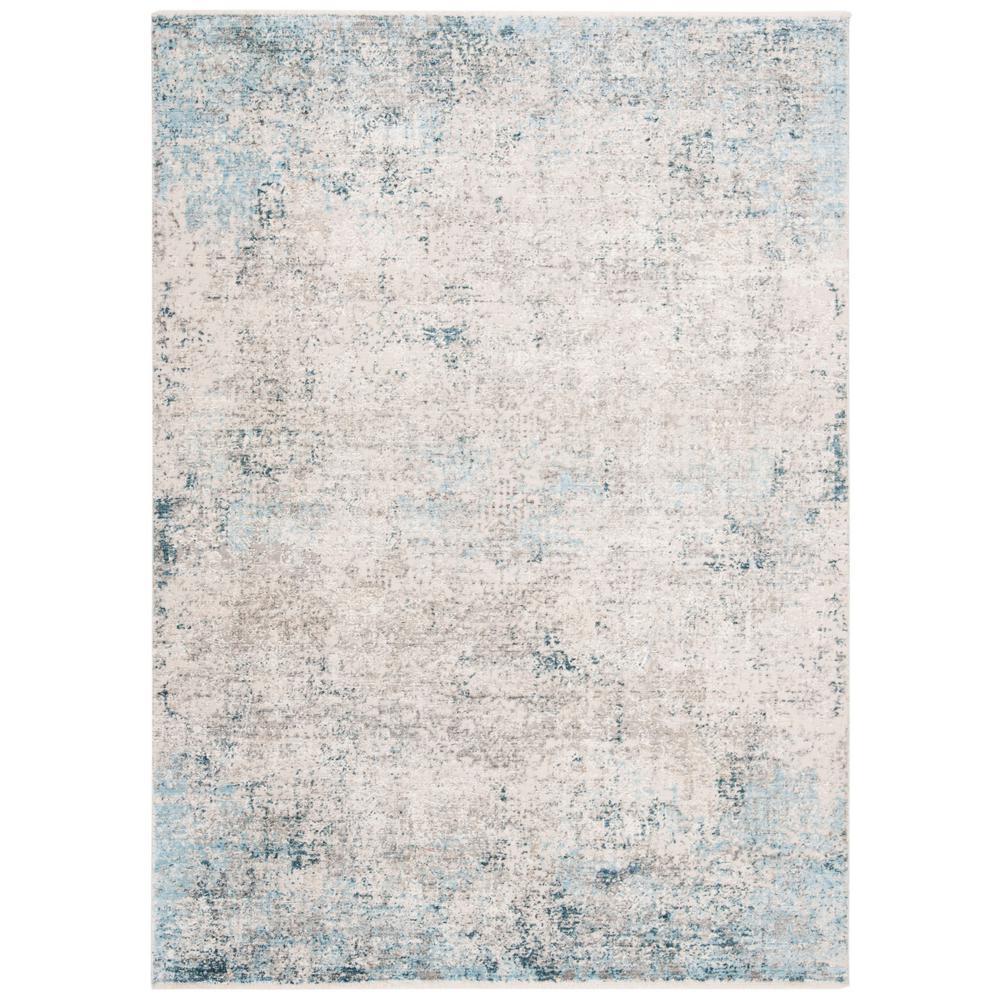 Dream Grey/Blue 5 ft. x 8 ft. Area Rug
