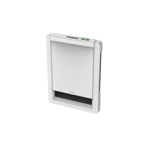 Sonoma Style 12-7/16 in. x 9-1/16 in. 1000-Watt 208-Volt Wall Fan Heater in White with Built-In MAESTRO Thermostat