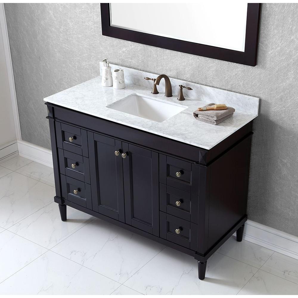 Bath Vanity Cabinet Only In Espresso Es