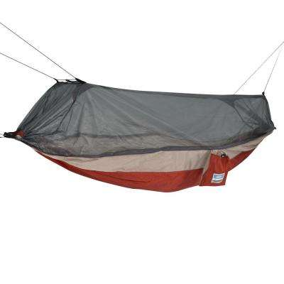 Red/Taupe Mosquito Hammock