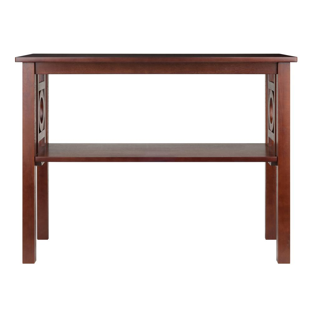 Marvelous Winsome Wood Ollie Walnut Console Table