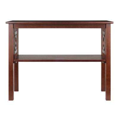Ollie Walnut Console Table