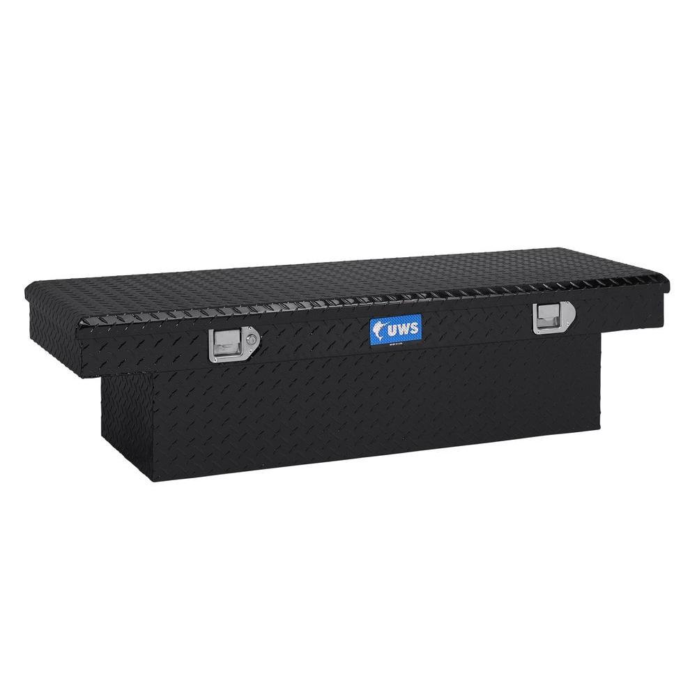 54 in. Aluminum Single Lid Black Crossover Toolbox SPLA