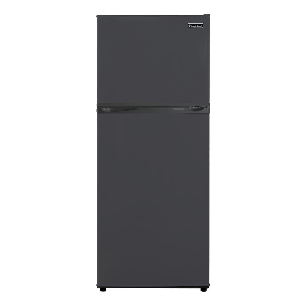 Top Freezer Refrigerator In Black HVDR1040B   The Home Depot