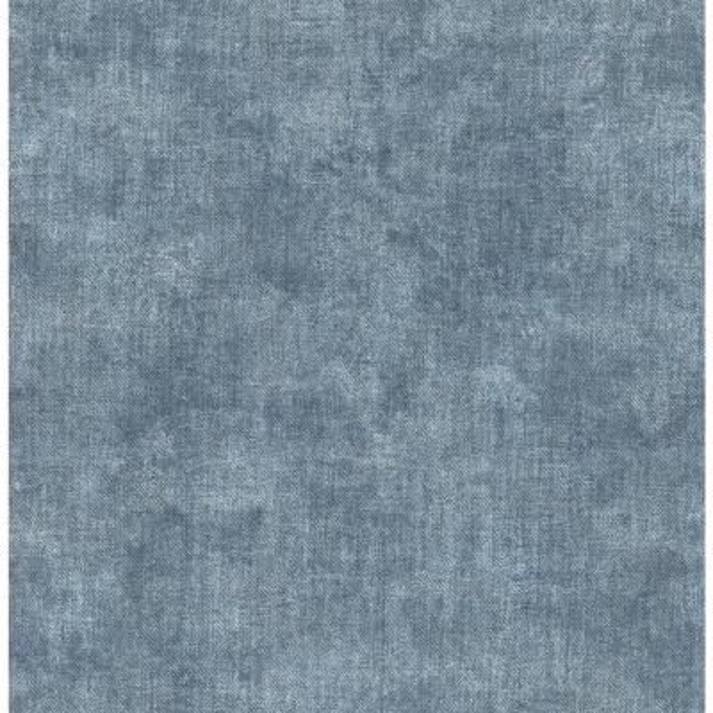 Gramercy Blue Linen Blue Wallpaper Sample