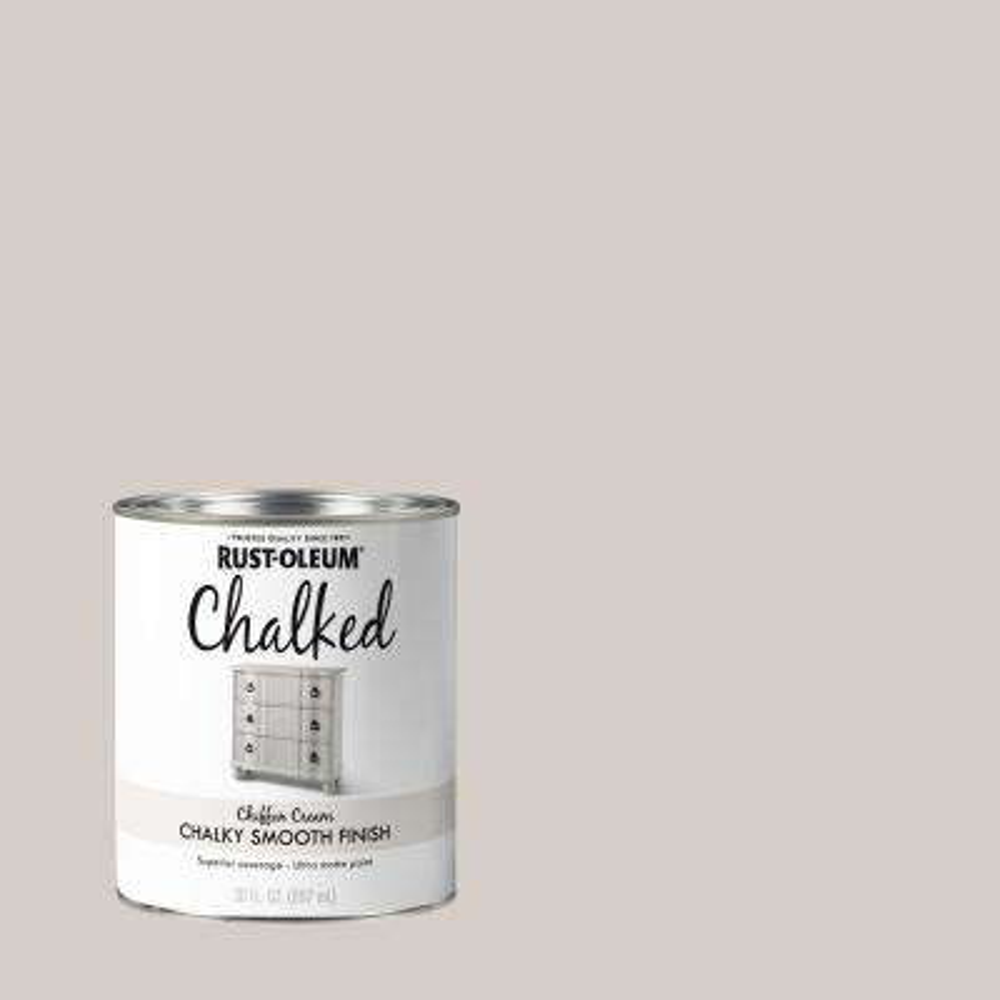 30 oz. Chiffon Cream Ultra Matte Interior Chalked Paint