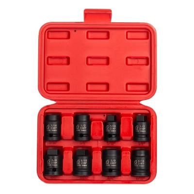1/2 in. Drive Pipe Plug Socket Set (8-Piece)