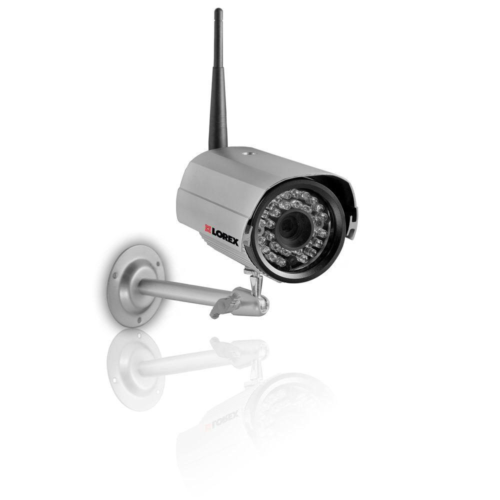 Lorex Wireless 420 TVL CMOS Bullet Shaped Surveillance Camera-DISCONTINUED