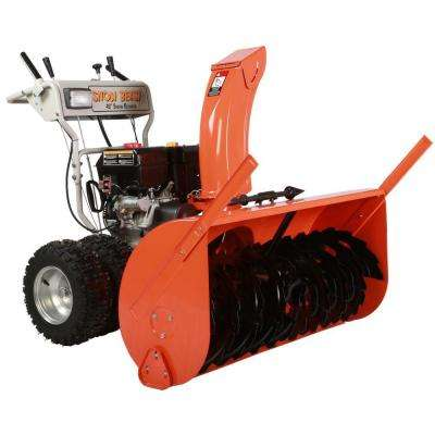 45 in. Commercial 420cc Electric Start 2-Stage Gas Snow Blower w/Headlights, Bonus Drift Cutters and Clean-Out Tool