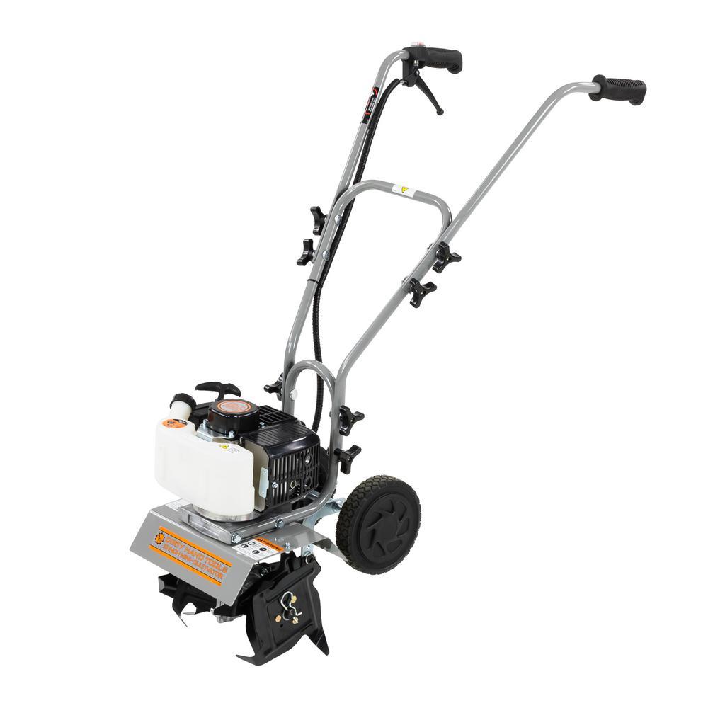 10 in. 43cc Gas 2-Cycle Mini Cultivator