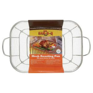 Click here to buy  Stainless Steel Mesh Roasting Pan.