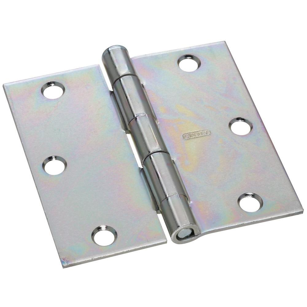 3-1/2 in. x 3-1/2 in. Wide Utility Hinge Removable Pin