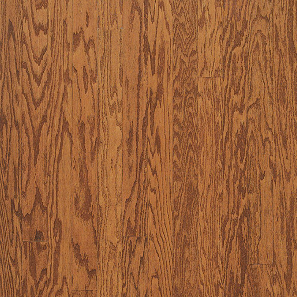 Bruce Town Hall Oak Gunstock 3/8 in. Thick x 5 in. Wide x Varying Length Engineered Hardwood Flooring (30 sq. ft. / case)