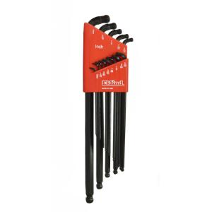 Extra Long Series Double-Ball-Hex-L Key Set with Holder Sizes0.050 in. to 3/8 in. (13-Piece)