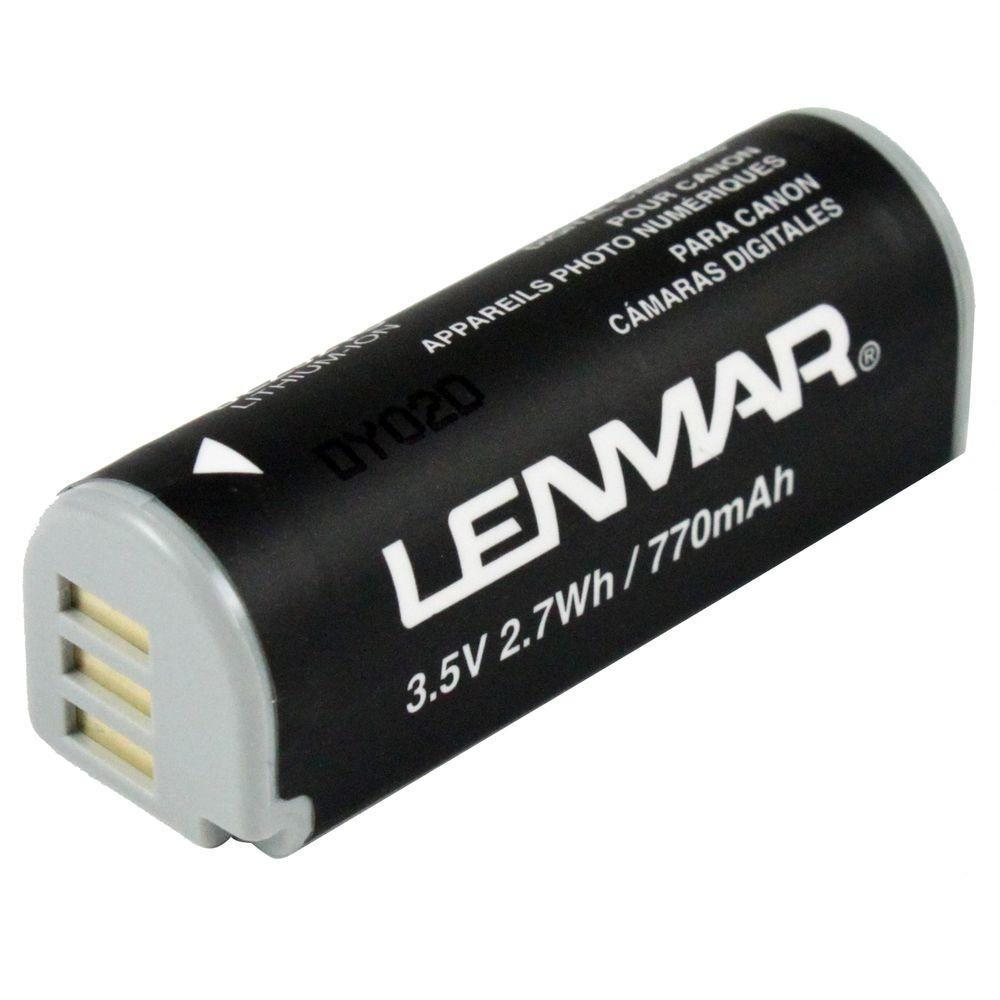 Lenmar Lithium-Ion 770mAh/7.4-Volt Digital Camera Replacement Battery