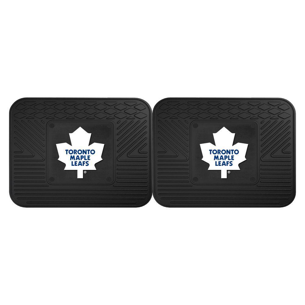 Fanmats Nhl Toronto Maple Leafs Black Heavy Duty 14 In X
