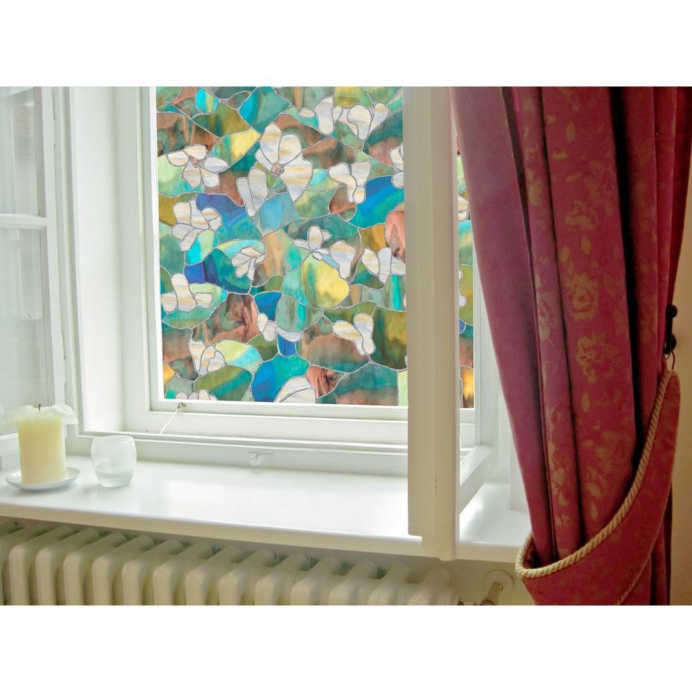 Decorative Windows For Homes: Artscape 24 In. X 36 In. Mountain Blossom Decorative
