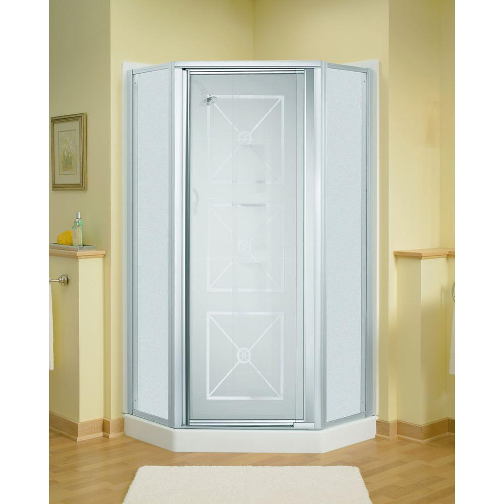 How To Install Sterling Bathtub Doors: STERLING Intrigue 27-9/16 In. X 72 In. Neo-Angle Shower