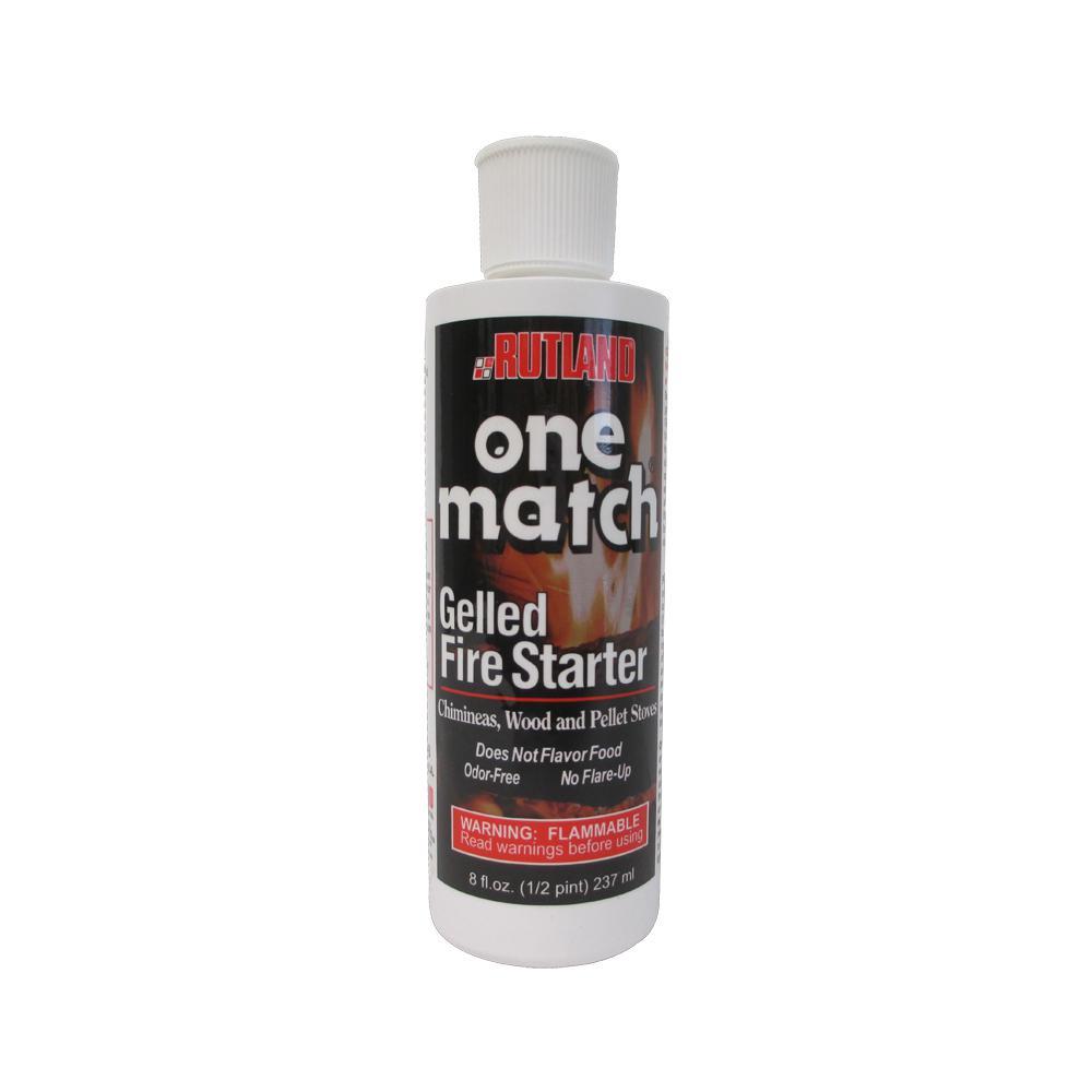 Rutland 8 fl. oz. One Match Gelled Fire Starter