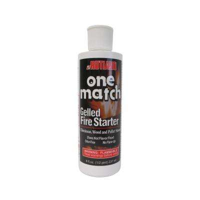 8 fl. oz. One Match Gelled Fire Starter