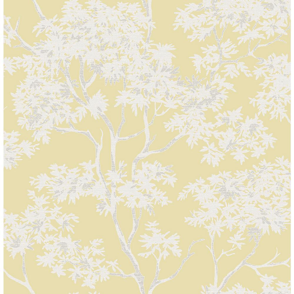 Paix Yellow Trees Wallpaper