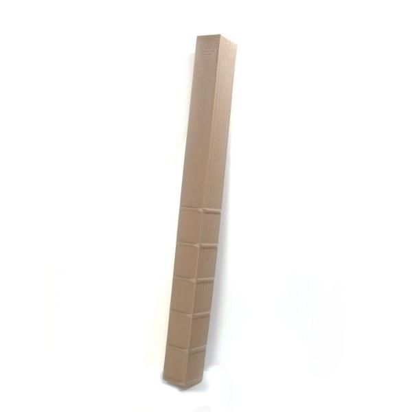 4 in. x 6 in. x 60 in. In-Ground Fence Post Decay Protection