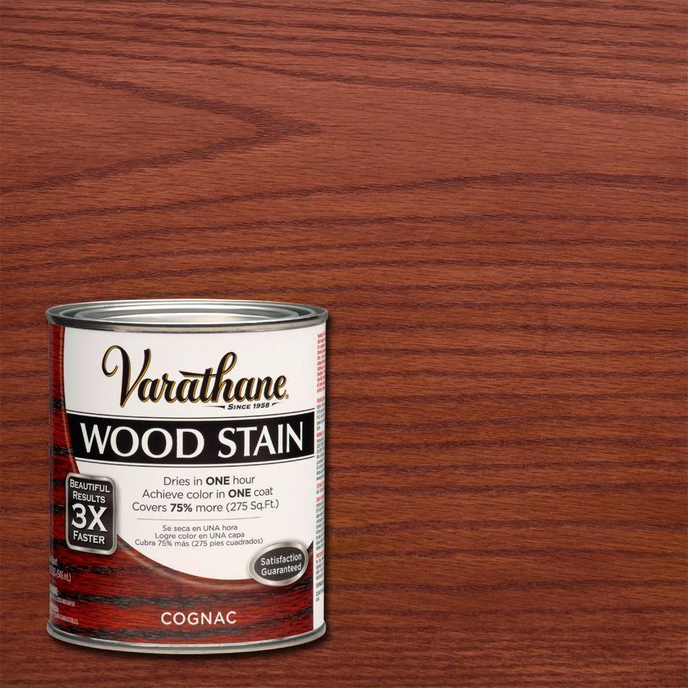 Varathane 1 qt. 3X Cognac Premium Wood Stain