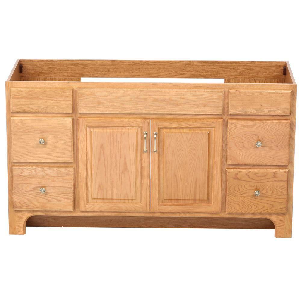 Buying Unfinished Kitchen Cabinets: Design House Richland 60 In. W X 21 In. D Unassembled