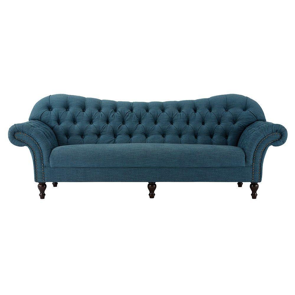 Arden Pea Polyester Sofa