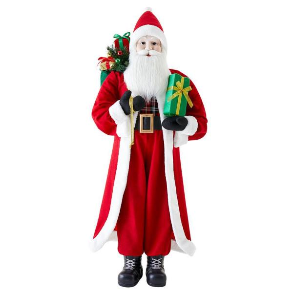 5 ft. Life Size Standing Santa Claus